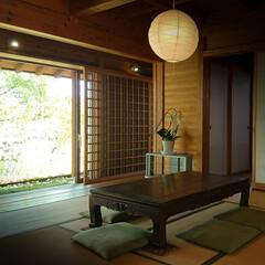 縁側/タタミ/日本の家/和室 日懐かしい感じの部屋 心地よい風が通り抜…