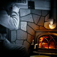 炎の揺らぎ/コーヒー/薪ストーブのある家/薪ストーブ もうすぐ薪ストーブの季節がやってきますね…