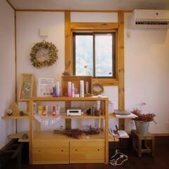 ひのきの家/美容室/真壁造りの家/小山市/栃木県/サイエンスホーム宇都宮店/... 木の温もり感じる美容室 以前お仕事させて…