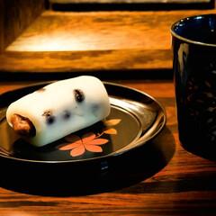 俵型/和菓子/宇都宮/すずらん本舗/塩豆大福/大福 俵型の大福 最初から最後の一口まで、変わ…
