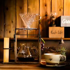 ドリッパースタンド/100均DIY/宇都宮/木の家づくり/コーヒーのある暮らし/コーヒー/... コンパクトサイズのドリッパースタンドを作…(2枚目)