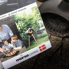 モルソー/アウトドアグリル/BBQ モルソーはデンマークの薪ストーブメーカー…