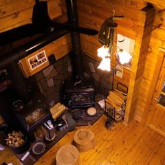 木の家 宇都宮/薪ストーブ 温もり感じる木の家