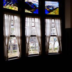 ステンドグラス/二葉館/西洋館 名古屋市にある二葉館の続きです こちらの…