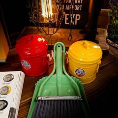 ほうき/ちりとり/掃除用具/ゴミ箱/雑貨/DULTON アメリカン雑貨で人気のDULTON 色鮮…