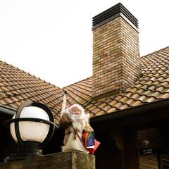 木の家/宇都宮/薪ストーブのある家/煙突/サンタクロース 昨夜はお疲れ様でした🎵 うちの煙突は、入…