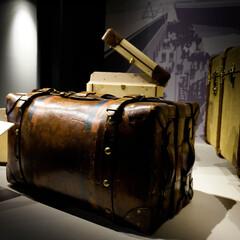 世界のカバン博物館/エース株式会社/カバン 世界のカバン博物館の続き 大事な荷物を運…