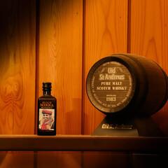 ウイスキー/ミニボトル/ウイスキー樽 ミニミニサイズウイスキー