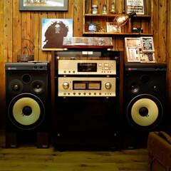 オーディオセット/JBL/LUXMAN 昔買ったオーディオセット 今はiPodや…