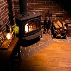 薪ストーブ/木の家/サイエンスホーム/ヨツールF400 桜満開なのに・・・寒い ・・・でも、スト…