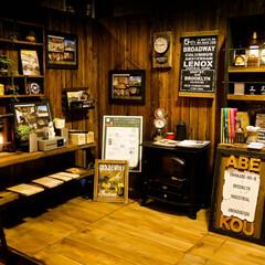 宇都宮/木の家/カフェ風/イベント 今日は出張イベントです。 カフェの雰囲気…