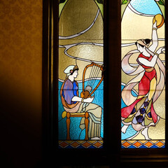 ステンドグラス/二葉館/西洋館 まさに芸術品