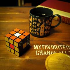 阿部興業株式会社/木の家づくり/ムーミンマグカップ/コーヒー/子供の頃/パズル/... 40年前に大ブームしたルービックキューブ…(3枚目)