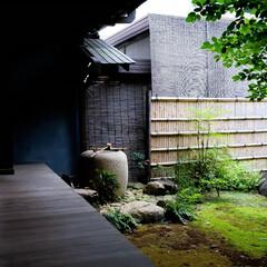 民家/涼/旧岩崎邸 日本の民家 涼しげな風景です