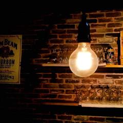温もり/宇都宮/レンガ壁/アンティーク 温かみのある優しい灯り ゆっくり心を癒し…