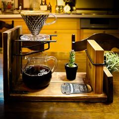 DIY/木の家/宇都宮/コーヒーのある暮らし/コーヒー/ドリッパースタンド/... 久々にDIY ドリッパースタンドを作って…(1枚目)