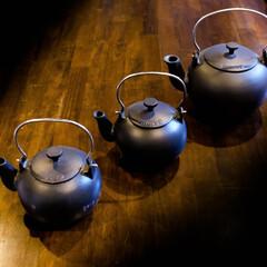 モルソー/ケトル 鉄ビン ケトルの形状をしていますが、沸か…