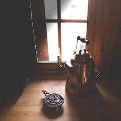 栃木県/木の家/宇都宮/フクロウ/鍋敷き/銅製/... 入荷するとすぐ売れちゃうコッパーケトル …