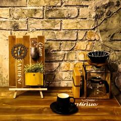 サイエンスホーム/阿部興業株式会社/木の家づくり/木の家/LEDライト/ドリッパースタンド/... 100均グッズで時計を作りました。 オリ…