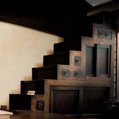 階段たんす/時代劇/古民家 階段たんす 時代劇や古民家などで見かけま…