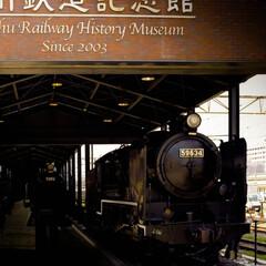 真岡鐵道/九州鉄道博物館/門司港レトロ/門司港/SL/蒸気機関車 力強い姿の蒸気機関車  こちらは門司港に…