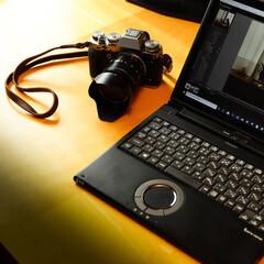 カメラ/一眼レフカメラ/FUJIFILM/木の家/宇都宮/住まい 愛用品です もう一台の愛用品のカメラで撮…