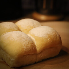 阿部興業株式会社/木の家づくり/木の家/コーヒー/宇都宮市/栃木県/... 米粉のパンです。 モチモチ食感で、満腹感…(2枚目)