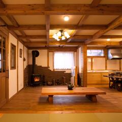 木の家/サイエンスホーム/薪ストーブ 真壁の家 サイエンスホーム