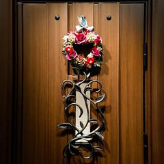 玄関ドア/アイアン/ヴェナート/YKKAP アップでちょっと分かりにくいですが、玄関…