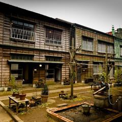 江戸東京たてもの園/ボンカレー/なつかしい/ホーロー看板 昔なつかしい雰囲気♥️ ホーロー看板 残…