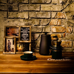 ダルトン/ドリップコーヒー/ビリージョエル/木の家/宇都宮/カフェ/... ブルックリンテイストのホームカフェ  こ…