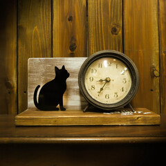 アンティークペイント/時計/DIY 買ってきた時計をちょっとペイント アンテ…