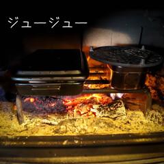 じゃがいも料理/グリラー/宇都宮市/栃木県/薪ストーブのある暮らし/薪ストーブ/... 薪ストーブクッキング🎵 今回は、ハッセル…(2枚目)