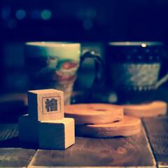 美濃焼/益子焼/マグカップ/サイエンスホーム宇都宮店/サイエンスホーム/阿部興業株式会社/... 良い香りのする「ひのき」 ひのきの端材で…