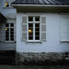 ドイツ式/木の家/明治時代/レトロ建築/栃木県/那須塩原市/... 堂々とした外観のお屋敷です。 明治のレト…(2枚目)