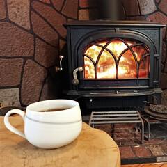 薪ストーブ/コーヒー/木の家 至福の時