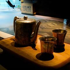 サンワカンパニー/銅製茶器 サンワカンパニーさんのSRに飾ってあった…