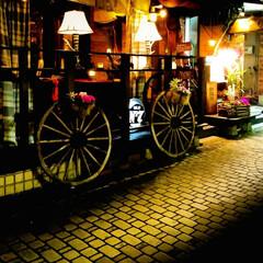 オシャレ/釜川/夜の街/宇都宮 雰囲気のあるお店 こんなオシャレなお店は…