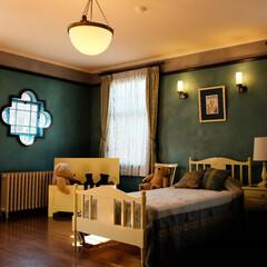 横浜/西洋館/子供部屋 子供部屋かな? 夢のあるお部屋ですね。