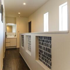 廊下/ニッチ 2F廊下の壁にはニッチを設けました。 ち…