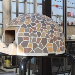 ピザ釜/可愛い/エクステリア/ガーデン 自宅のお庭で使えるドーム型の可愛いピザ釜…(1枚目)