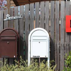 ポスト/可愛い/bobi/洋風/エクステリア/ガーデン 可愛いポスト「bobi」洋風のお家にぴっ…