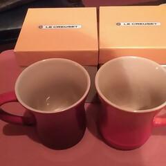 雑貨/キッチン雑貨 ルクルーゼのマグカップ…✨   元彼が色…