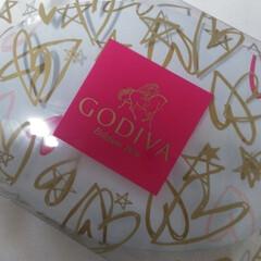 バレンタインデー/GODIVA セブンのコラボ商品の GODIVAが届き…(1枚目)