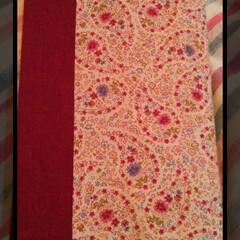 プレゼント/レース/花柄/ブックカバー/book/ピンク/... pinkの可愛い花柄の生地で  book…