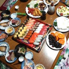 料理/パーティ/大晦日/住まい/暮らし/フォロー大歓迎 我が家の大晦日🥰  暮れは豪華にやります…
