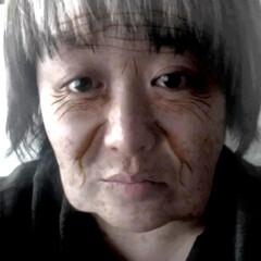 加工/おばあちゃん/アプリ/フォロー大歓迎/わたしのお気に入り とあるアプリ(笑)  私がおばあちゃんに…
