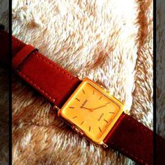 おじいちゃん/時計/GODIVA/フォロー大歓迎/住まい/ファッション 祖父の形見のラドーの時計…♥  今日、3…