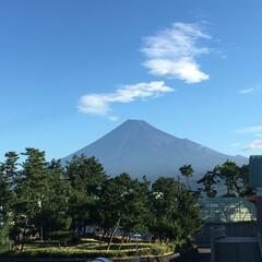 景色/仕事/富士山/静岡 静岡のいとこより。  富士山近いなー✨ …