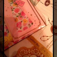 感謝/誕生日/ワッツ/Seria/コレクション/レターセット/... こちらもSeriaとワッツで購入した レ…(1枚目)
